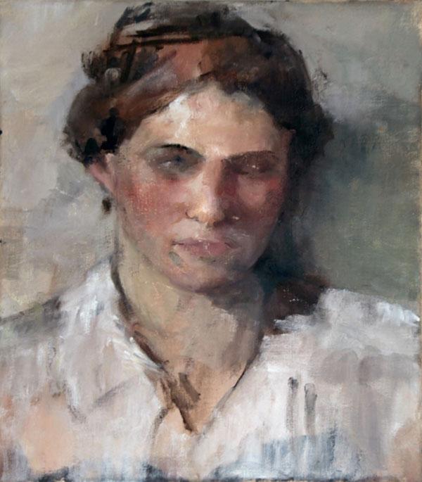 Portrait Oil in Canvas 40x50cm 2018