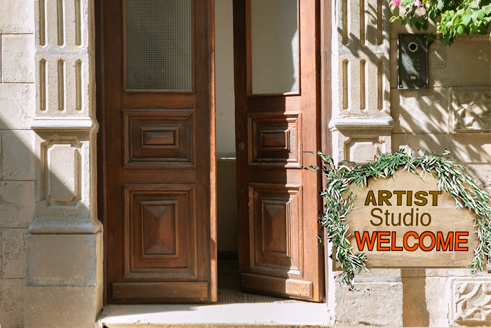 Visiting an Artist Studio:   The Ultimate Guide for Visitor and Artist.